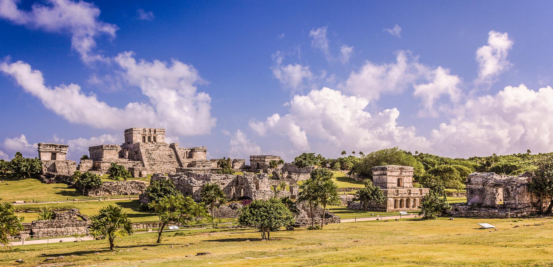 Zona Arqueológica de Tulúm en Quintana Roo.