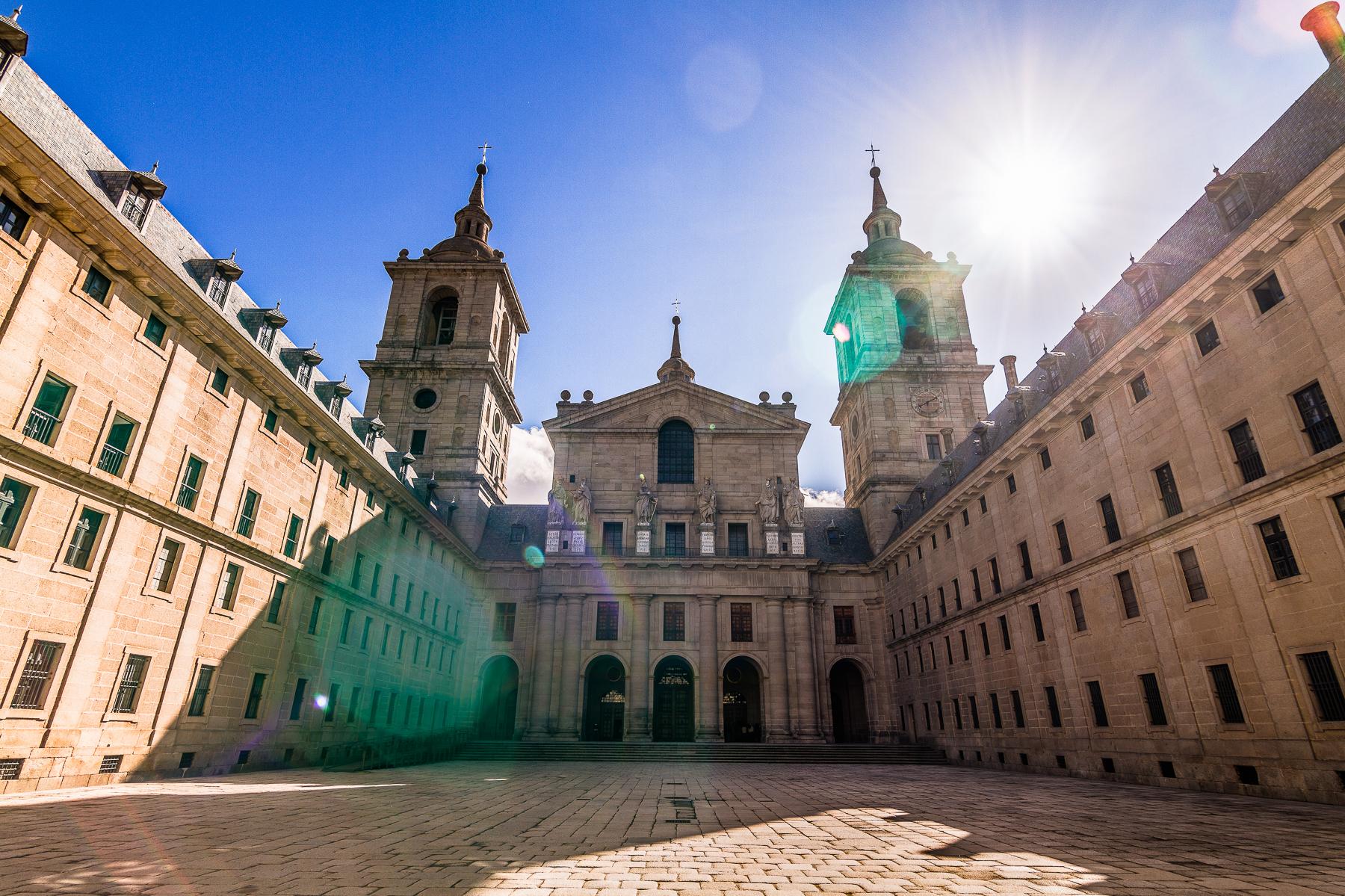 Real Monasterio de San Lorenzo de El Escorial, España.