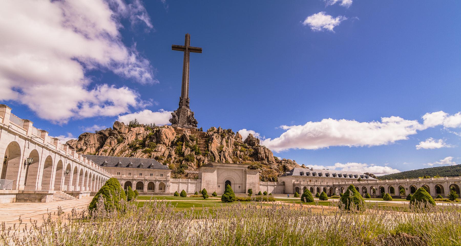 Santa Cruz del Valle de Los Caidos, España.