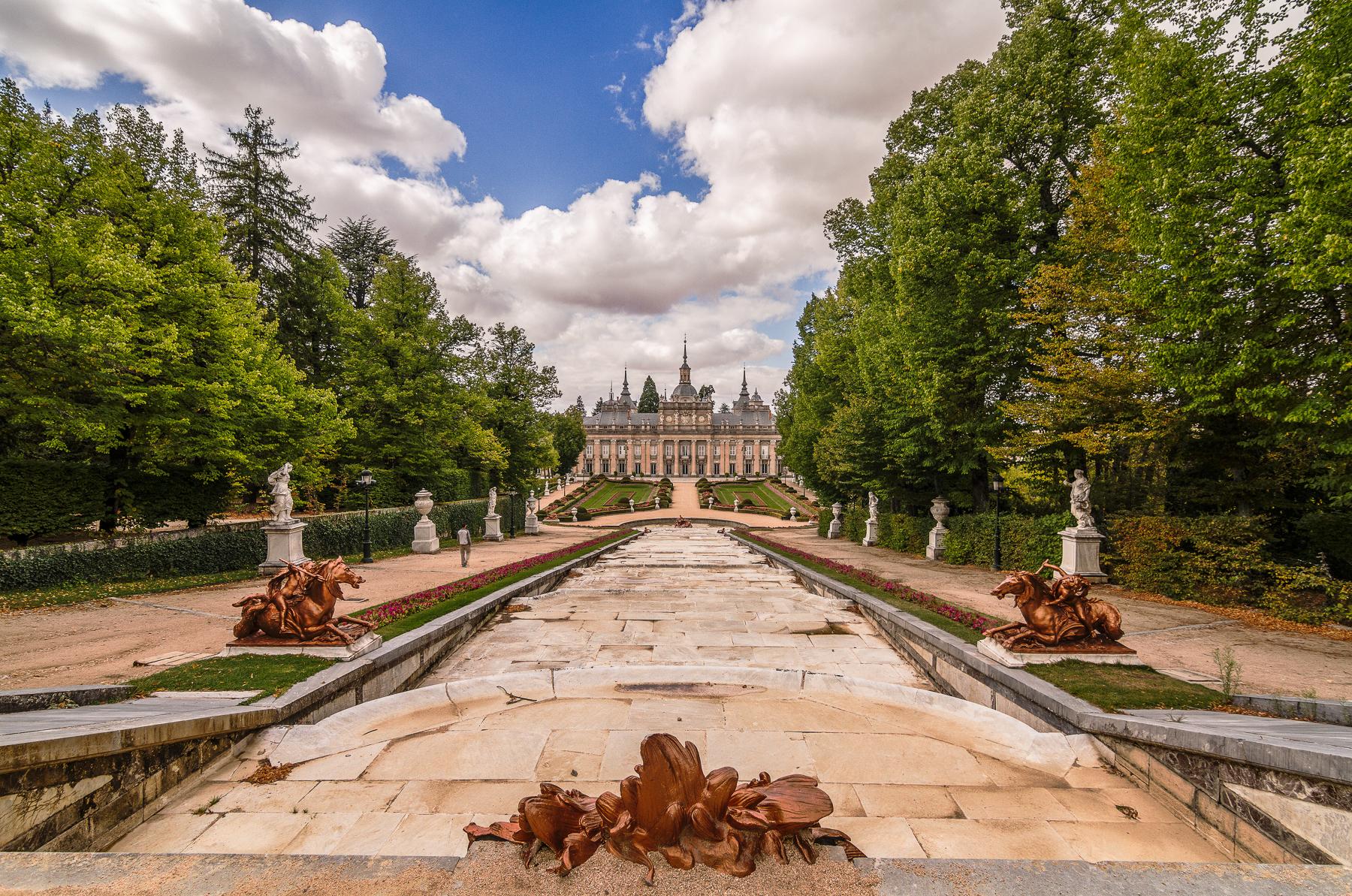 Palacio Real de la Granja de San Ildefonso, España.